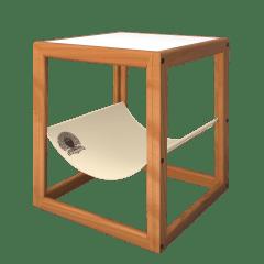 Mesa Lateral Estaleirinho Caramelo