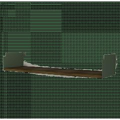 Prateleira INCwall Verde 90x25cm