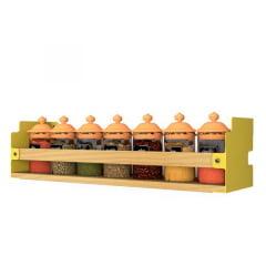 Prateleira INCwall Amarela 40x10cm